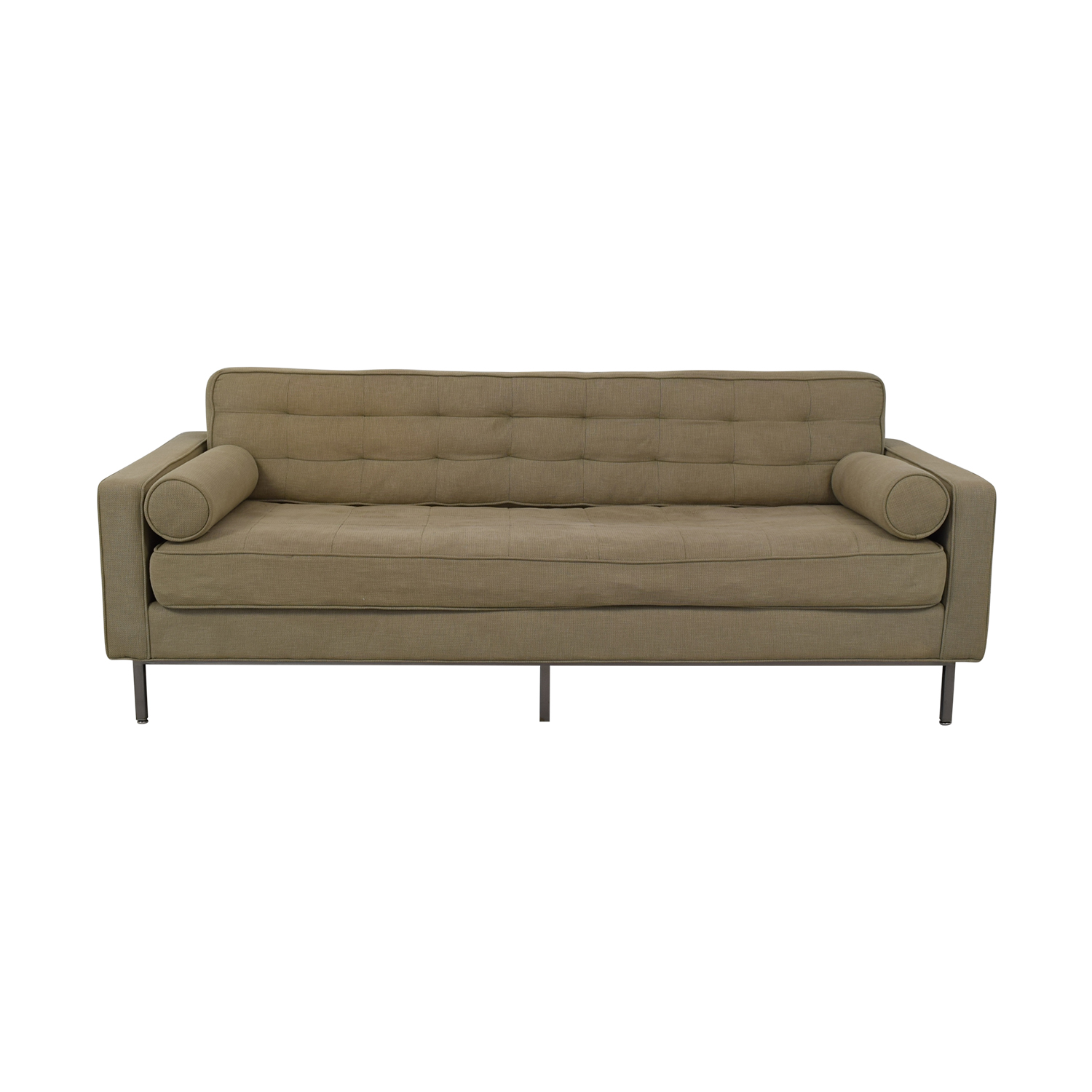 Custom Tufted Tuxedo Sofa on sale