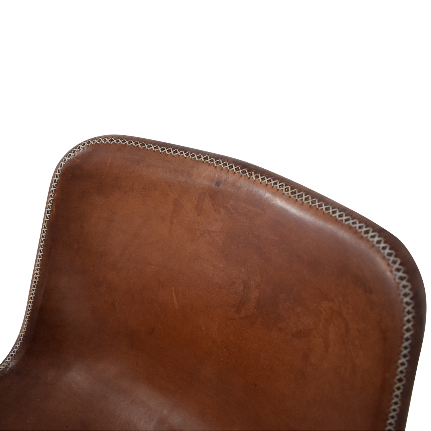 ABC Carpet & Home ABC Carpet & Home Giron Brown Leather Chair coupon