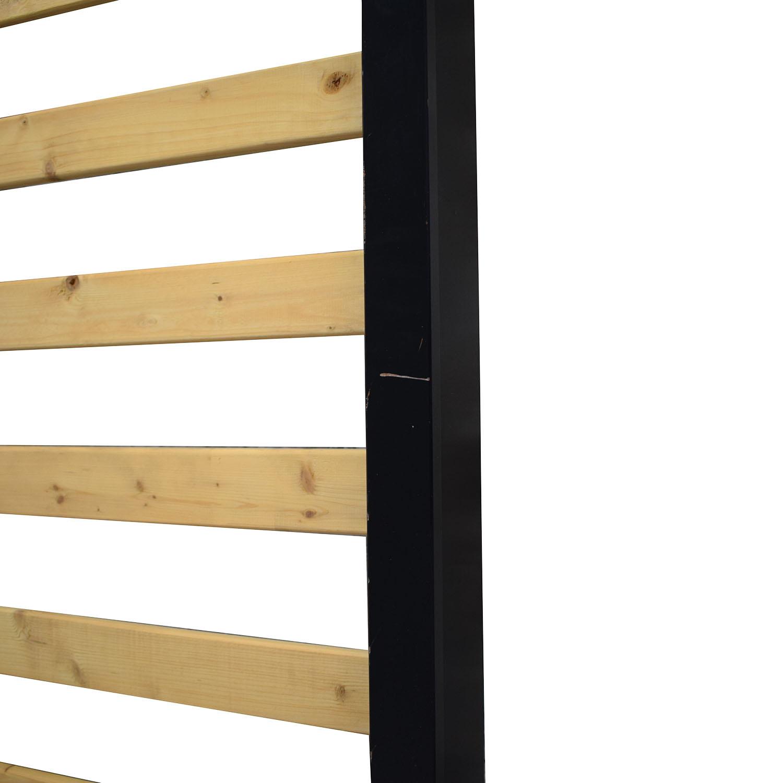 Custom Queen Bed Frame black