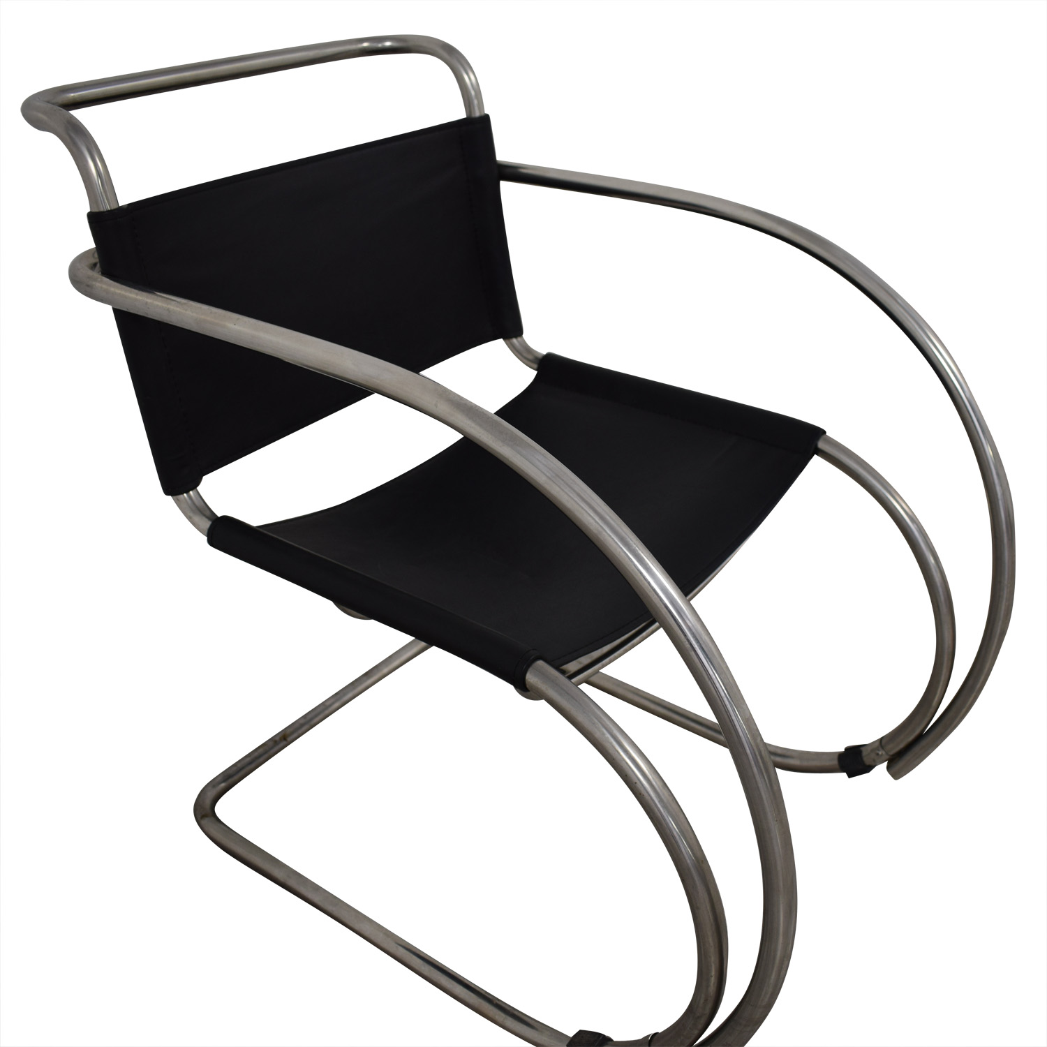 Charmant 83% OFF   Restoration Hardware Restoration Hardware Cantilevered Armchair /  Chairs