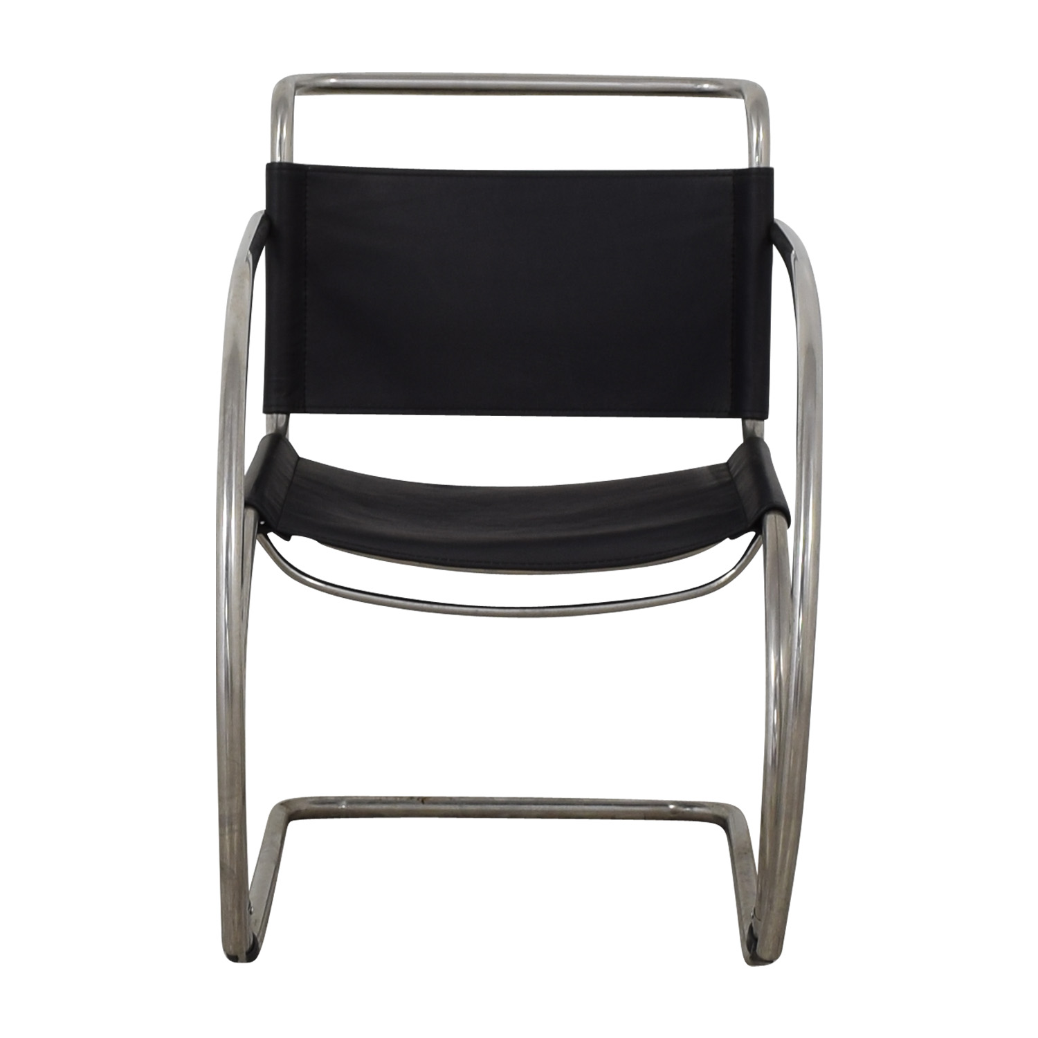 Restoration Hardware Restoration Hardware Cantilevered Armchair discount