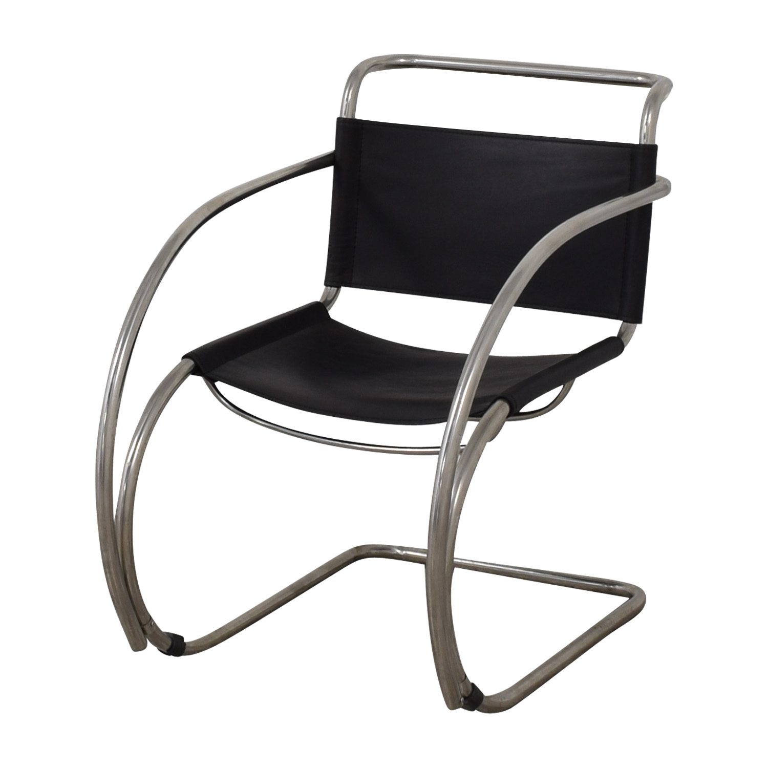 83% OFF   Restoration Hardware Restoration Hardware Cantilevered Armchair /  Chairs