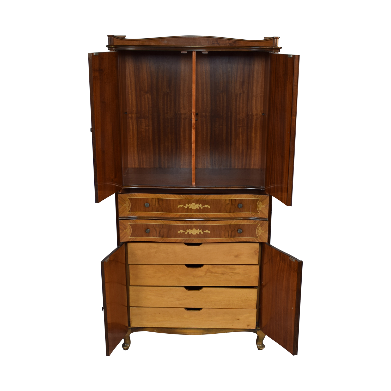 Roma Furniture Armoire sale