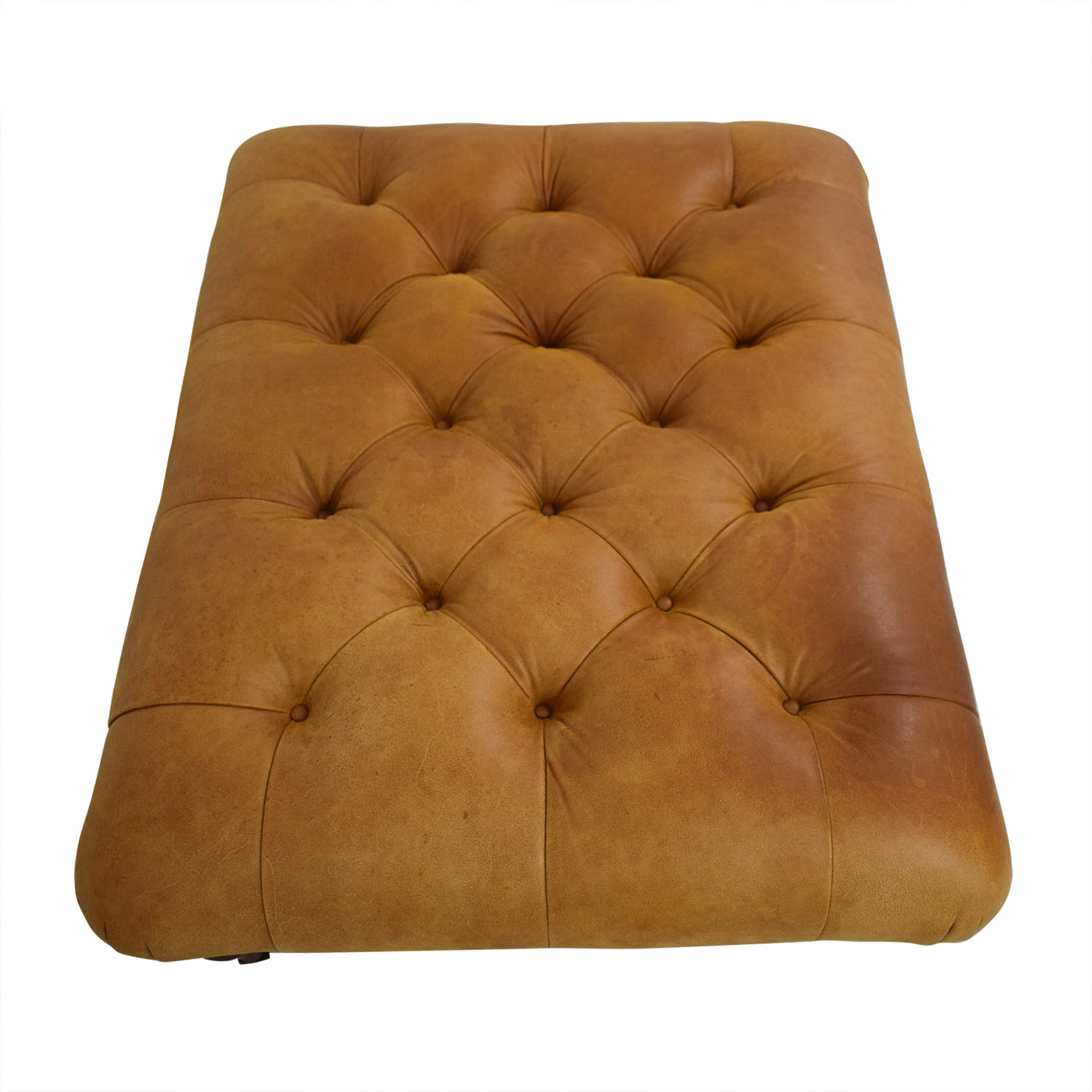buy Laura Ashley Laura Ashley Radley Leather Ottoman online