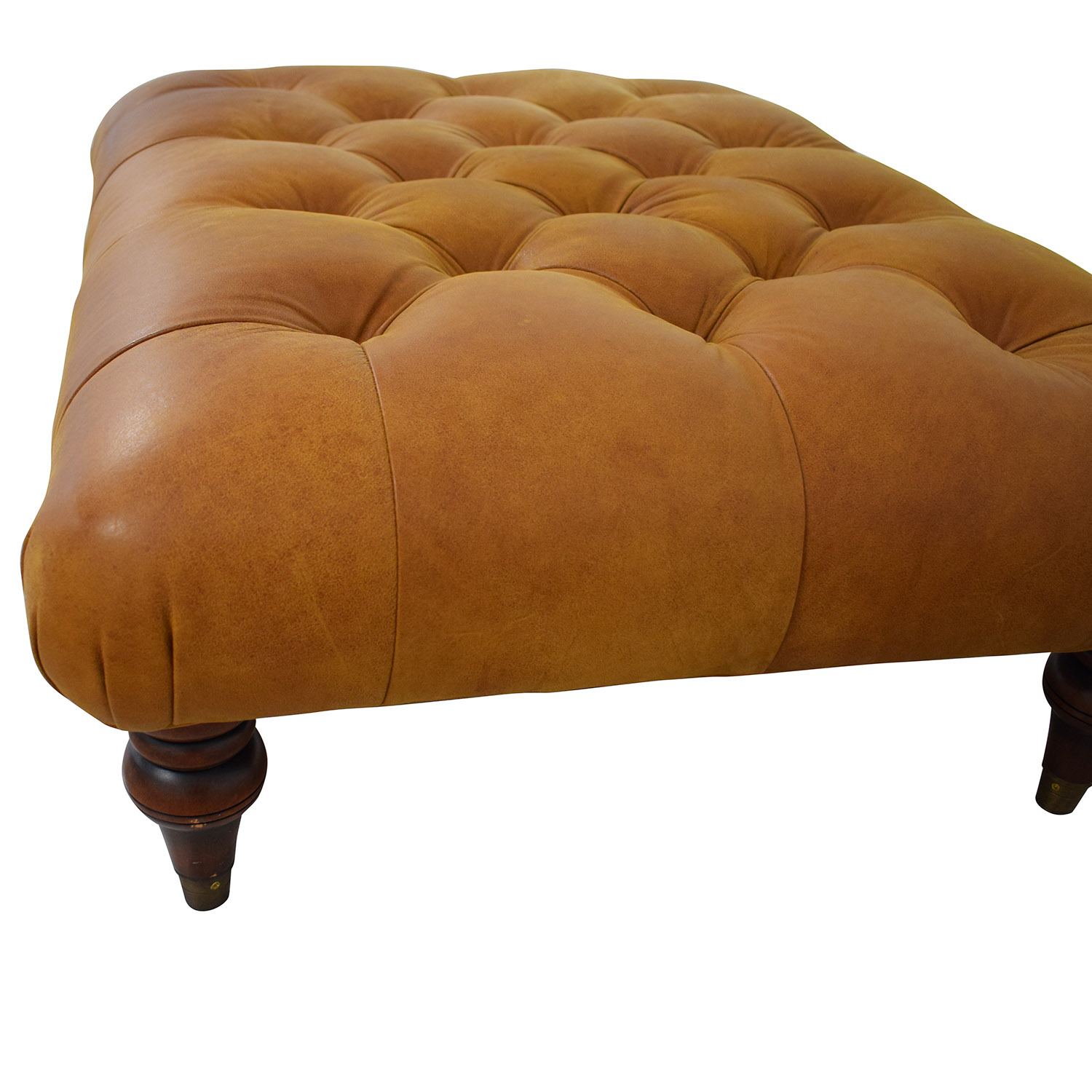 buy Laura Ashley Radley Leather Ottoman Laura Ashley Chairs