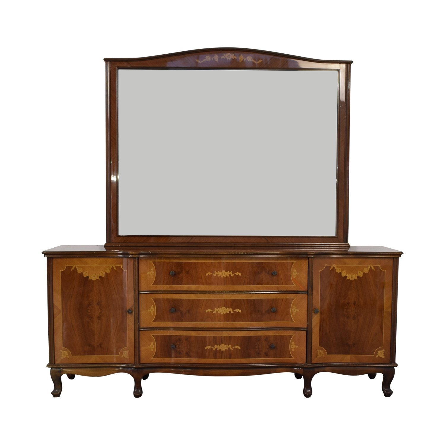 Roma Furniture Dresser with Mirror second hand