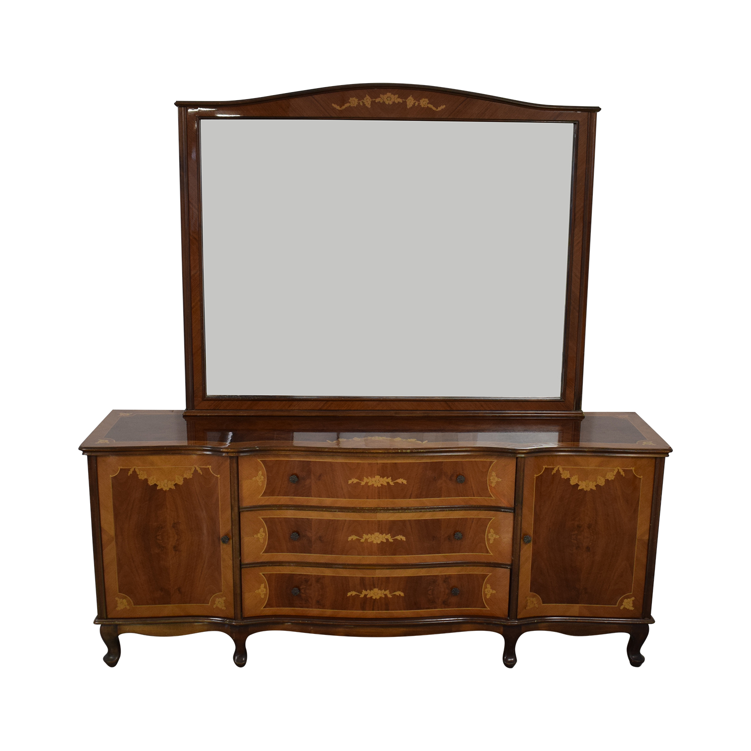 Roma Furniture Dresser with Mirror nyc