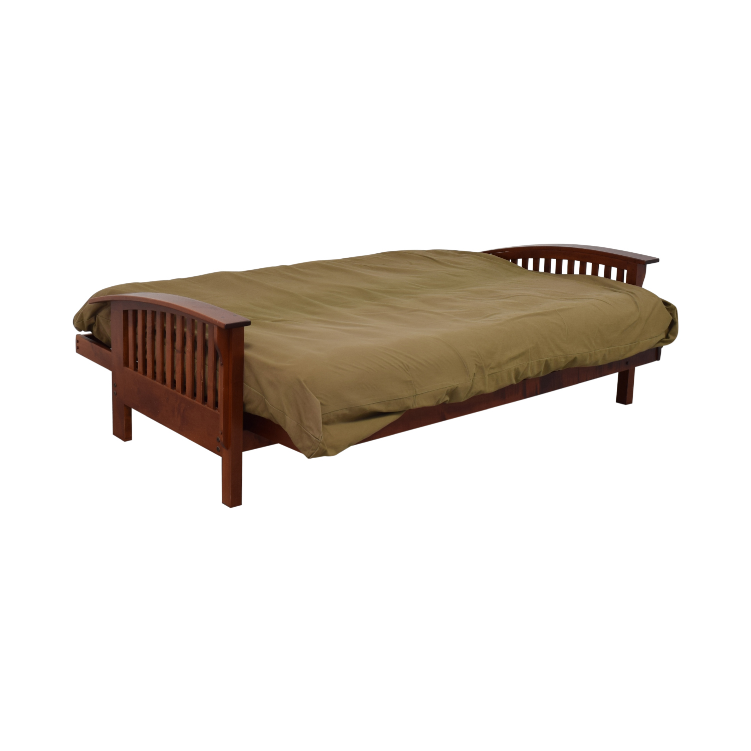 Wood Frame Futon on sale