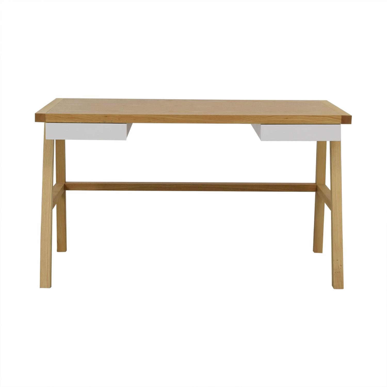 Gus Modern Gus Modern Finch Desk Beige, White