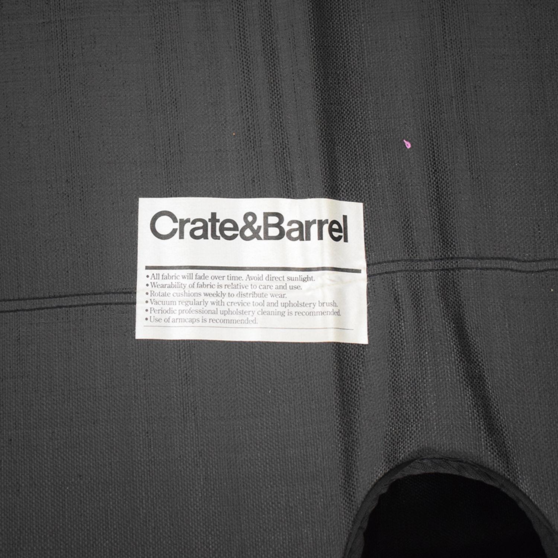 shop Crate & Barrel Axis II Sleeper Sectional Crate & Barrel