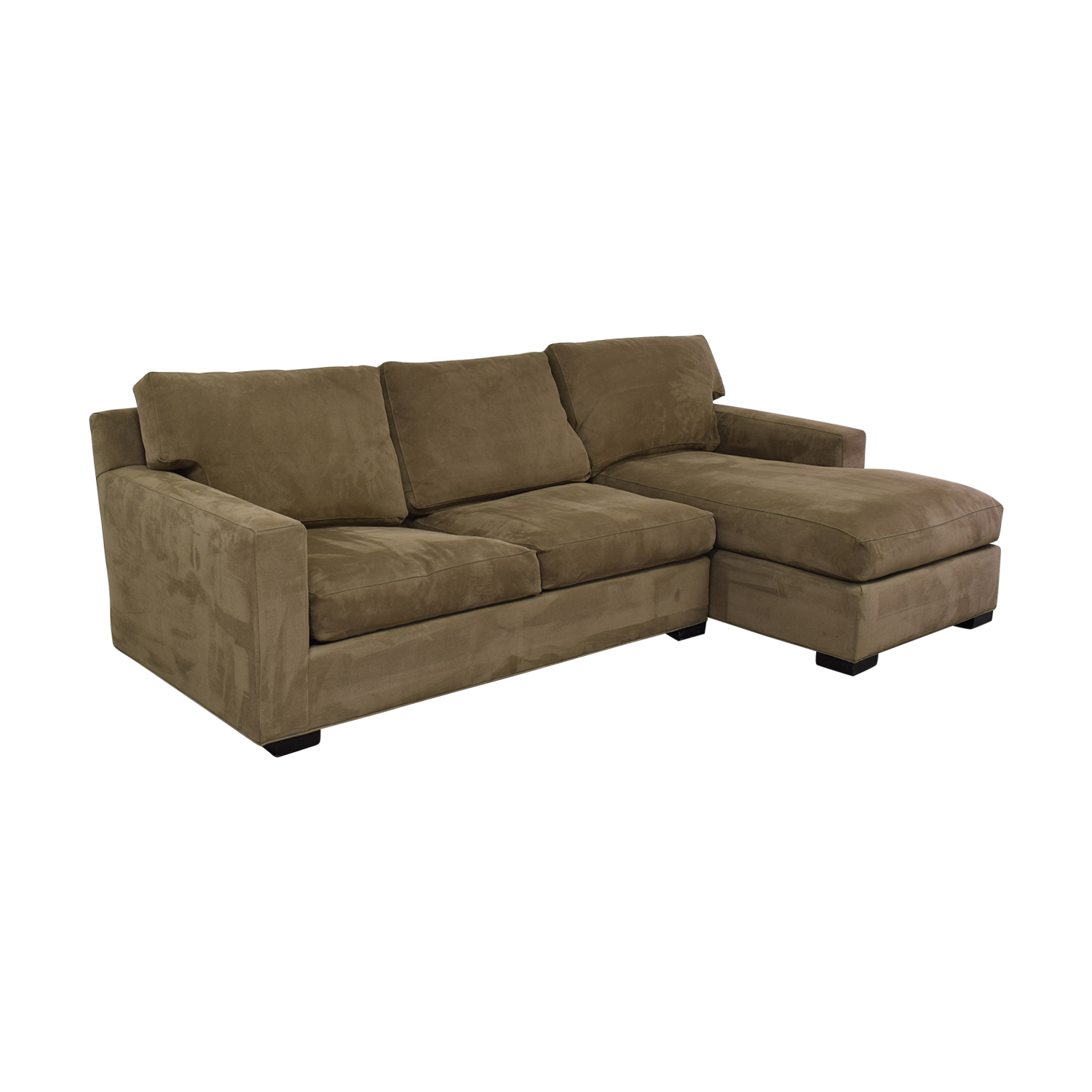 Crate & Barrel Crate & Barrel Axis II Sleeper Sectional for sale