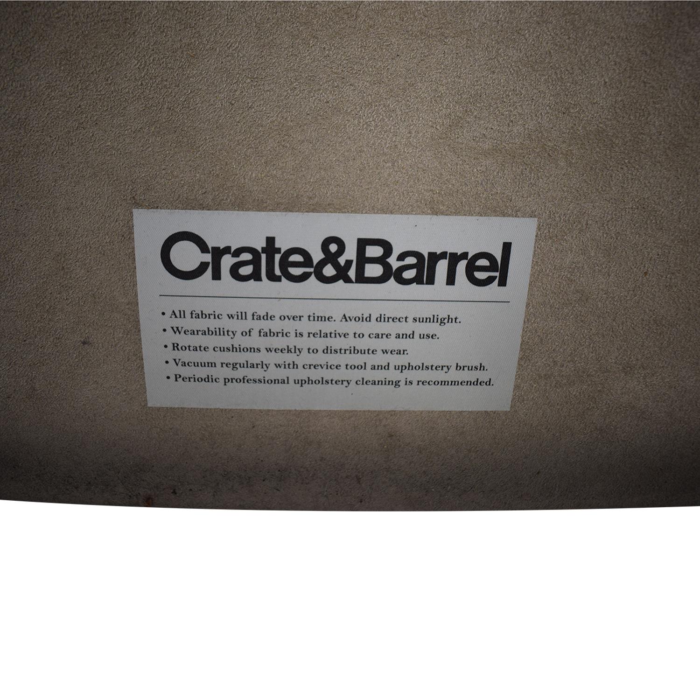 buy Crate & Barrel Crate & Barrel Fairmont Upholstered Queen Bed online