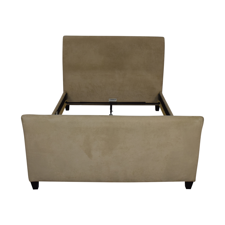 Crate & Barrel Crate & Barrel Fairmont Upholstered Queen Bed second hand