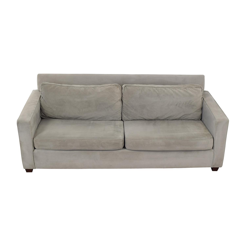 West Elm Henry Velvet Sofa / Sofas