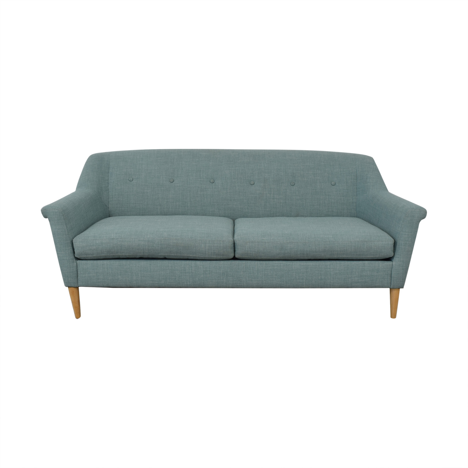 West Elm Finn Loveseat sale