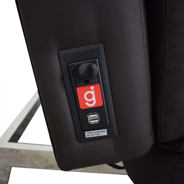 Coddle Coddle Gjemeni Convertible Leather Sleeper Sofa discount