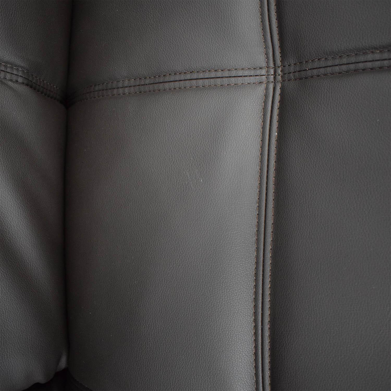 buy Coddle Gjemeni Convertible Leather Sleeper Sofa Coddle