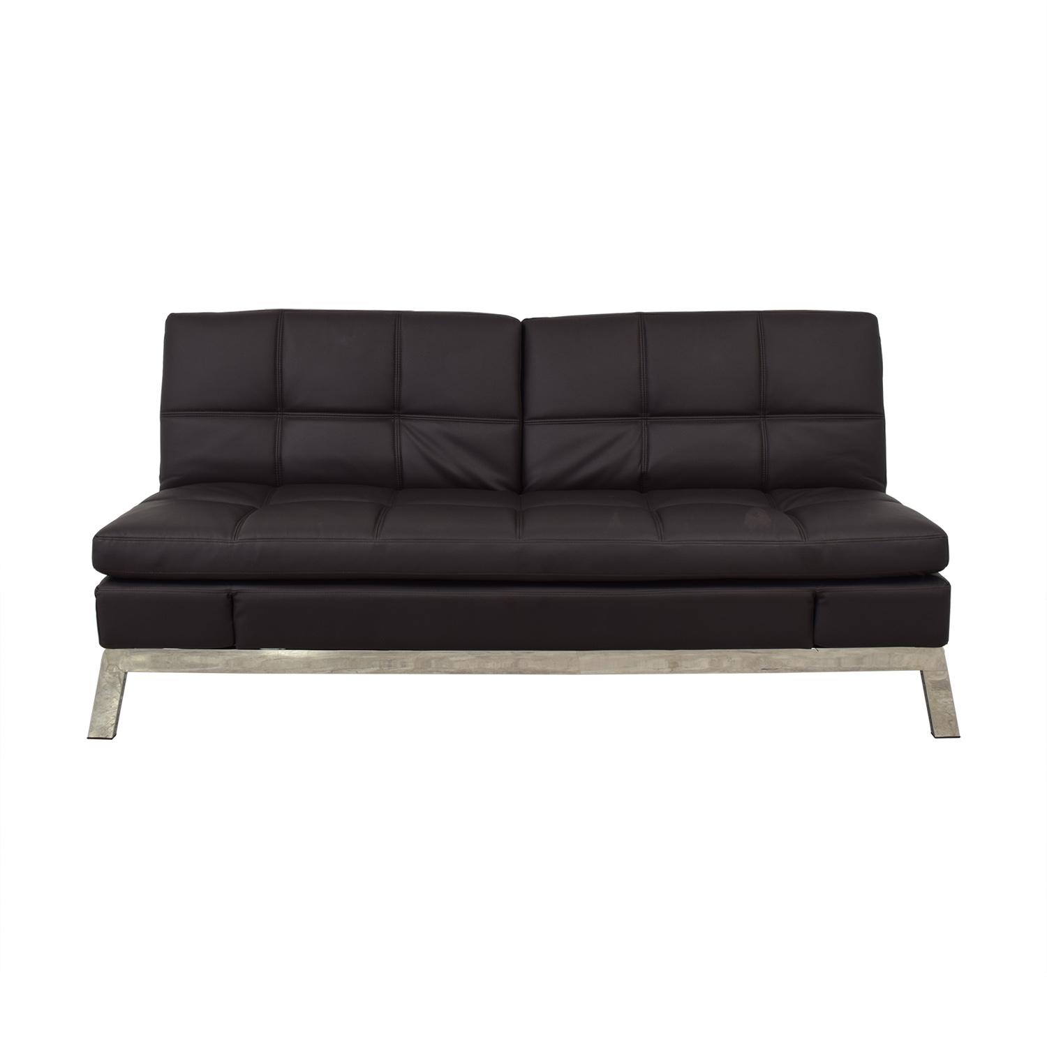 Coddle Coddle Gjemeni Convertible Leather Sleeper Sofa dimensions