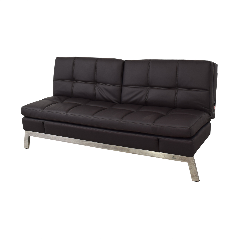 Coddle Coddle Gjemeni Convertible Leather Sleeper Sofa second hand