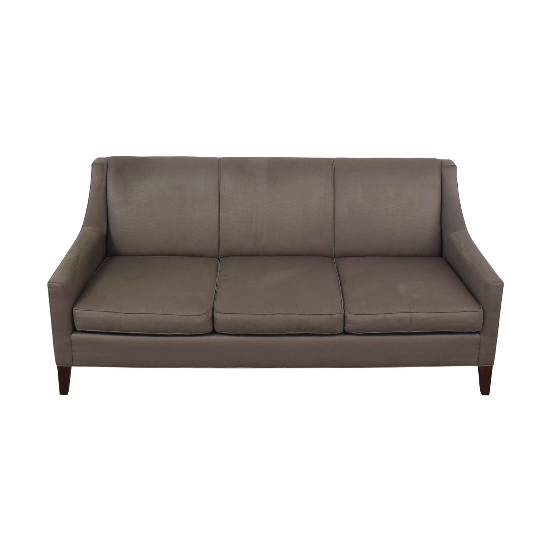 Mitchell Gold + Bob Williams Mitchell Gold & Bob Williams Cara Three-Cushion Sofa gray