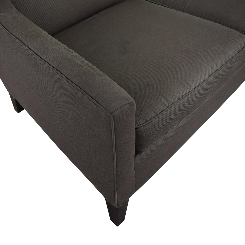 Mitchell Gold + Bob Williams Mitchell Gold & Bob Williams Cara Three-Cushion Sofa Classic Sofas
