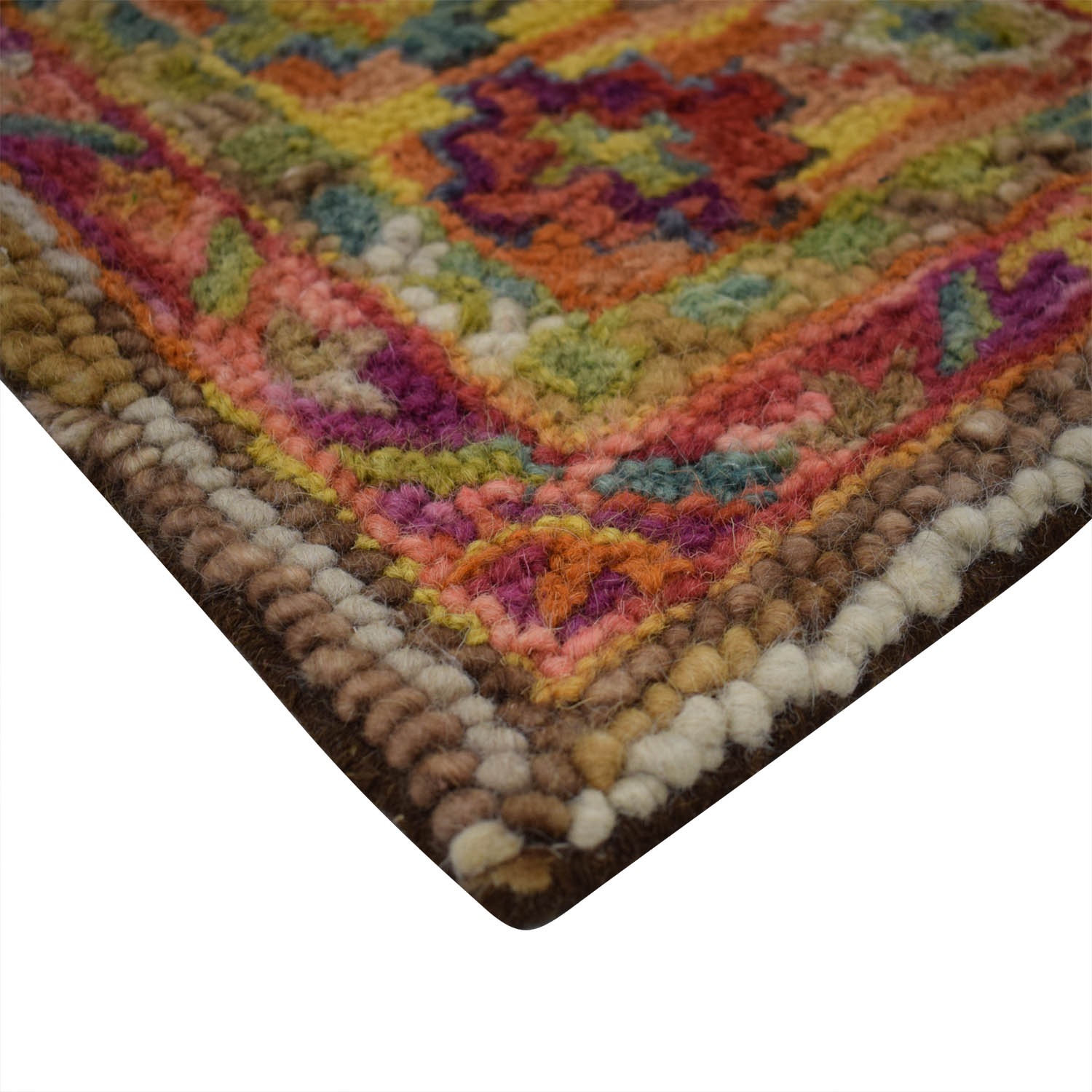 Cost Plus World Market World Market Multi-Colored Wool Rug price