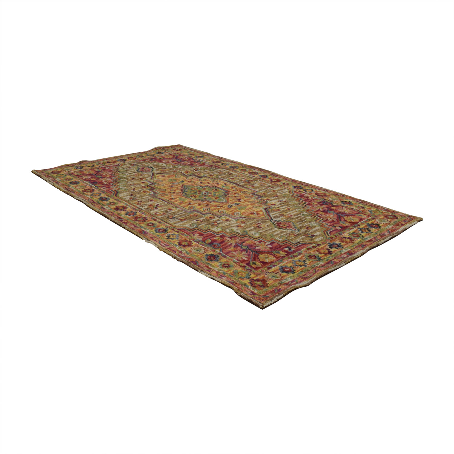 buy World Market Multi-Colored Wool Rug Cost Plus World Market Rugs