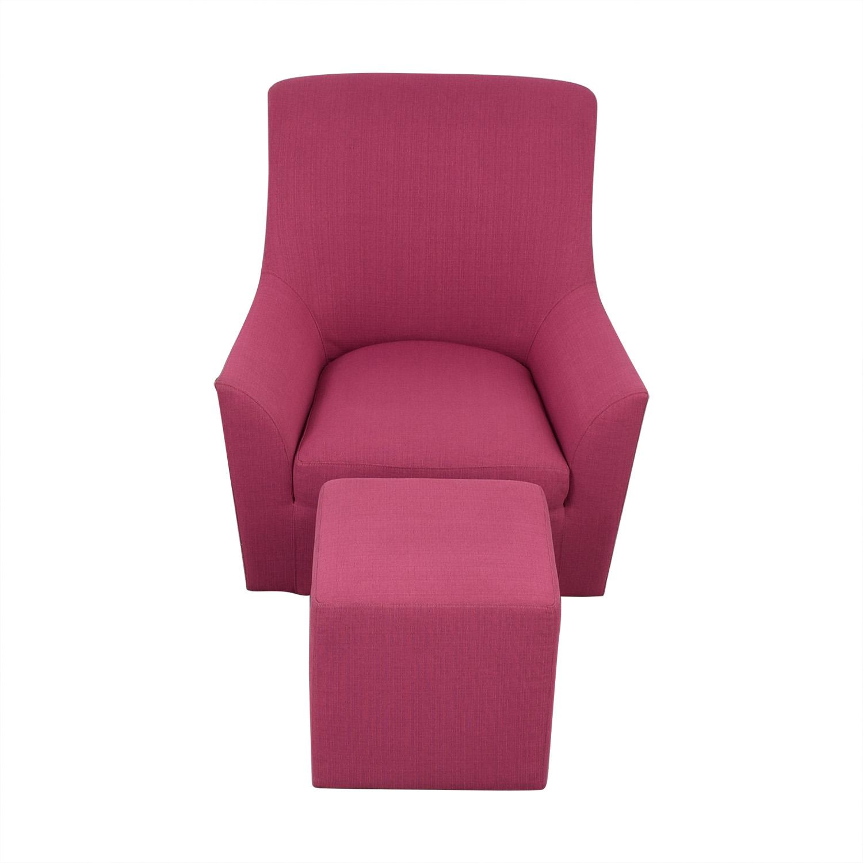 ABC Carpet & Home ABC Carpet & Home Chair and Ottoman nj