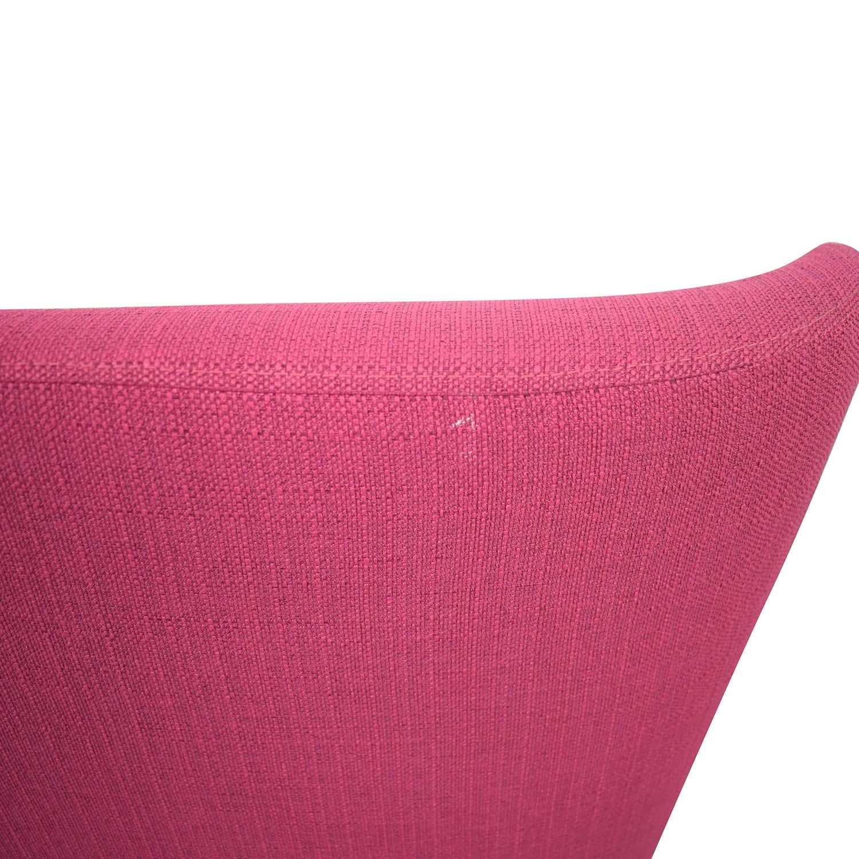 ABC Carpet & Home ABC Carpet & Home Chair and Ottoman pink