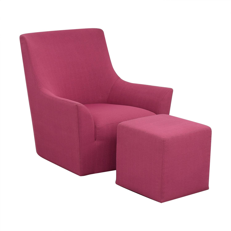 shop ABC Carpet & Home Chair and Ottoman ABC Carpet & Home Chairs