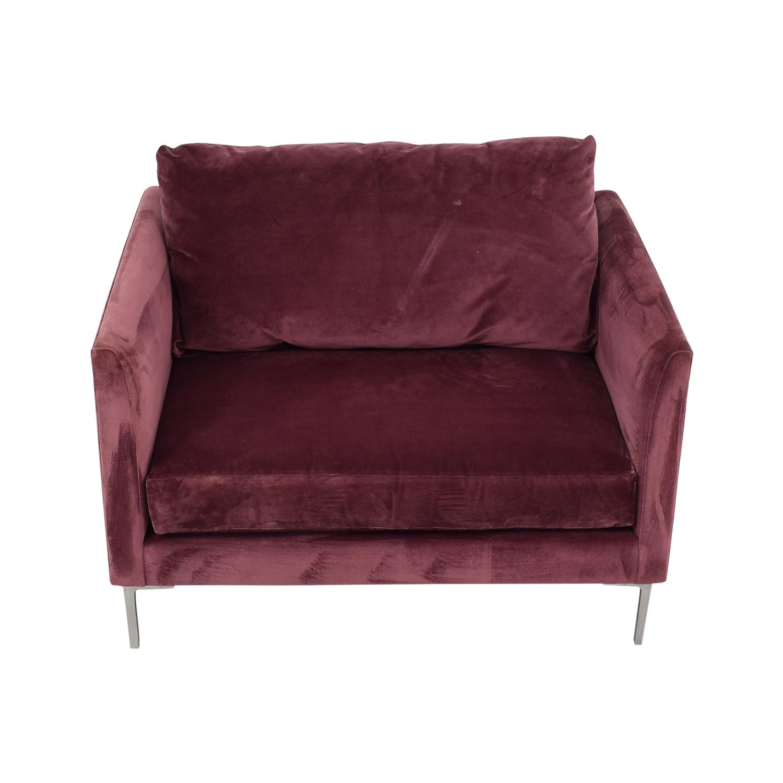 buy ABC Carpet & Home Cobble Accent Chair ABC Carpet & Home Accent Chairs