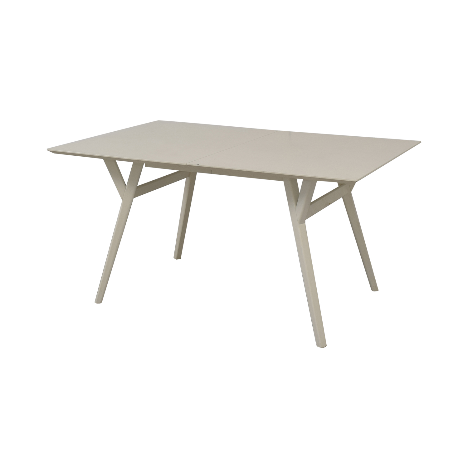 West Elm West Elm Mid Century Expandable Dining Table nyc