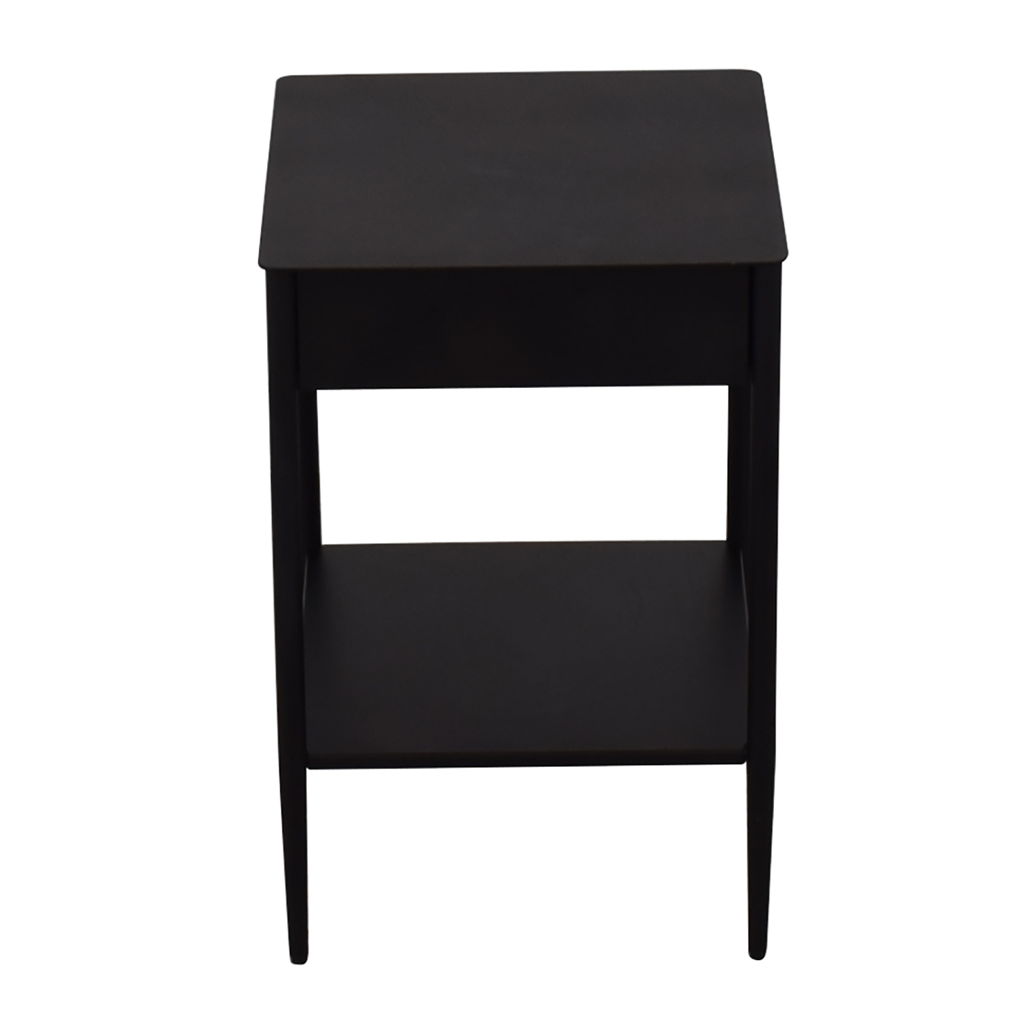 buy West Elm Metal Work Nightstand Dresser Wood Hot Rolled Steel West Elm End Tables