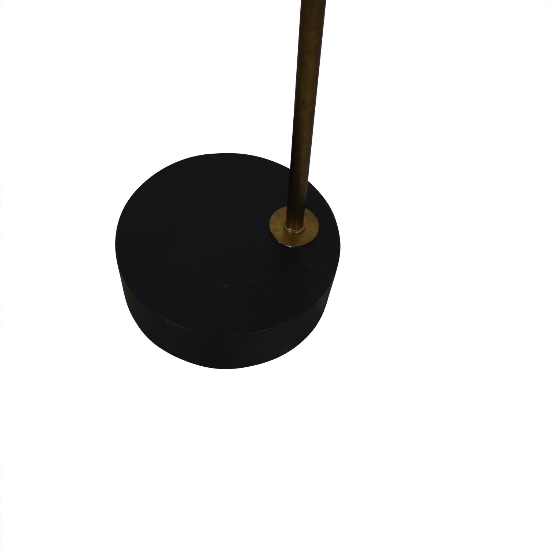 Crate & Barrel Riston Floor Lamp Crate & Barrel