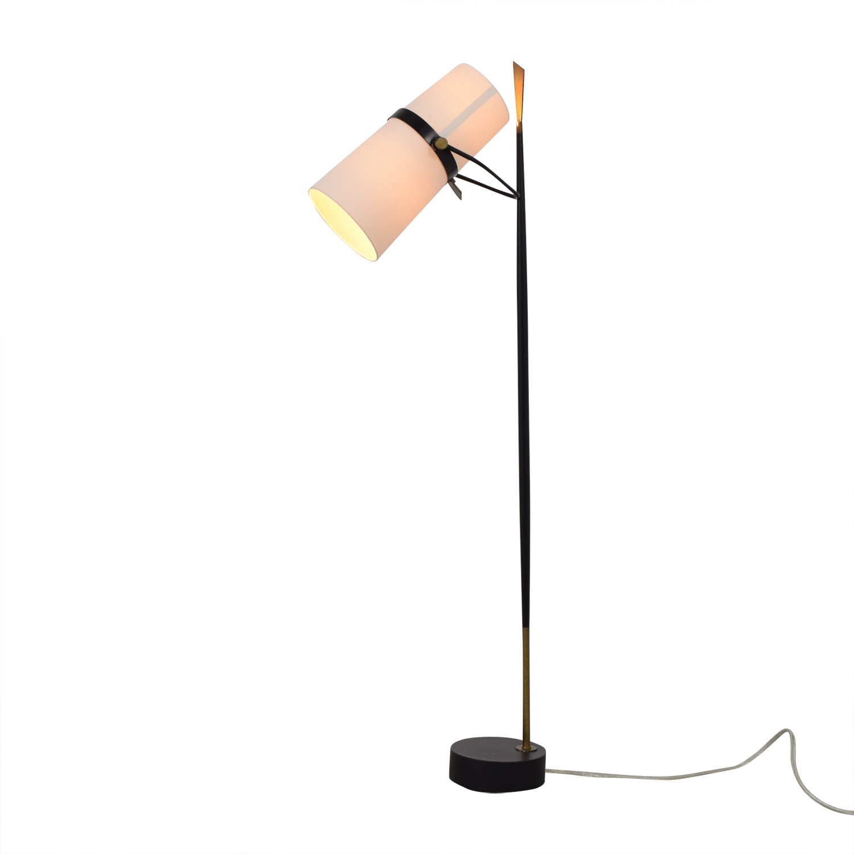 buy Crate & Barrel Riston Floor Lamp Crate & Barrel
