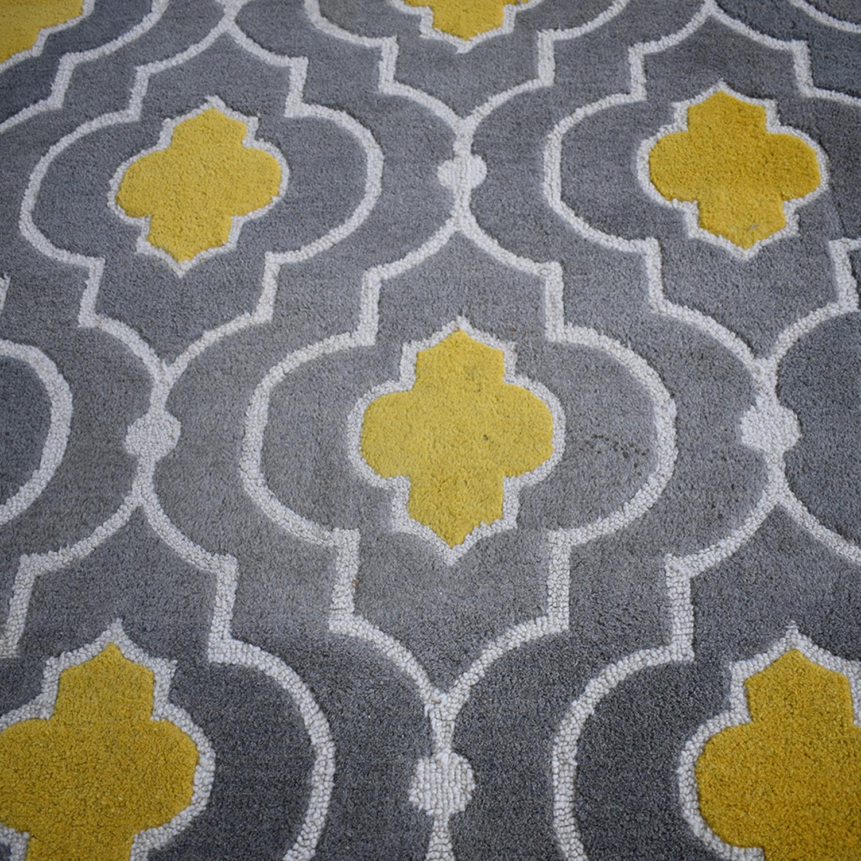 Loloi Brighton Grey and Yellow Rug / Decor