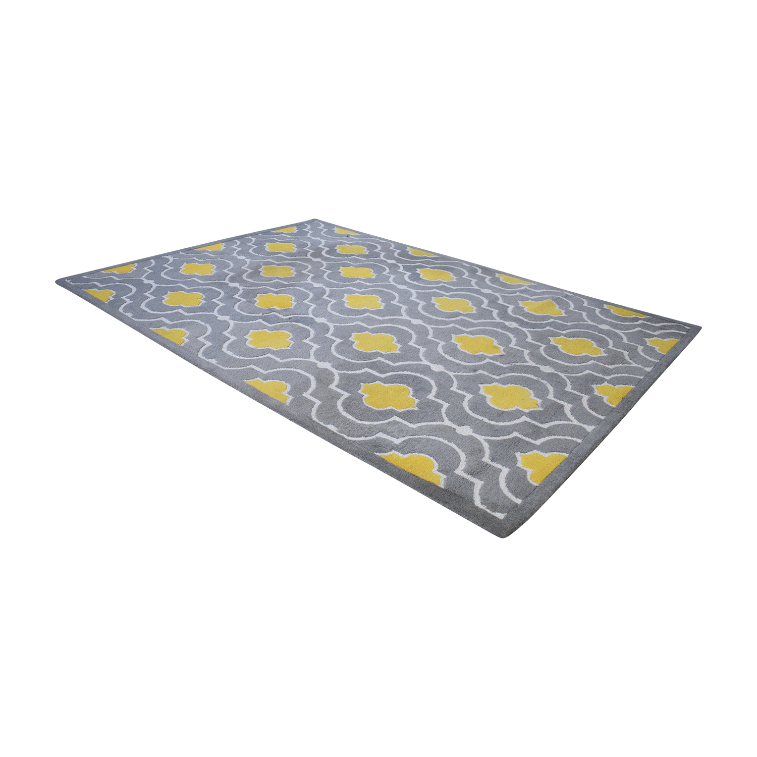 Loloi Brighton Grey and Yellow Rug sale