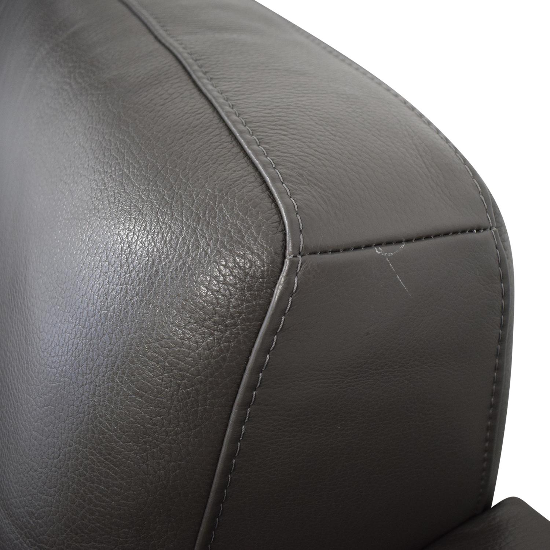 buy Nicoletti Dorian Chaise Sectional Sofa Nicoletti Home