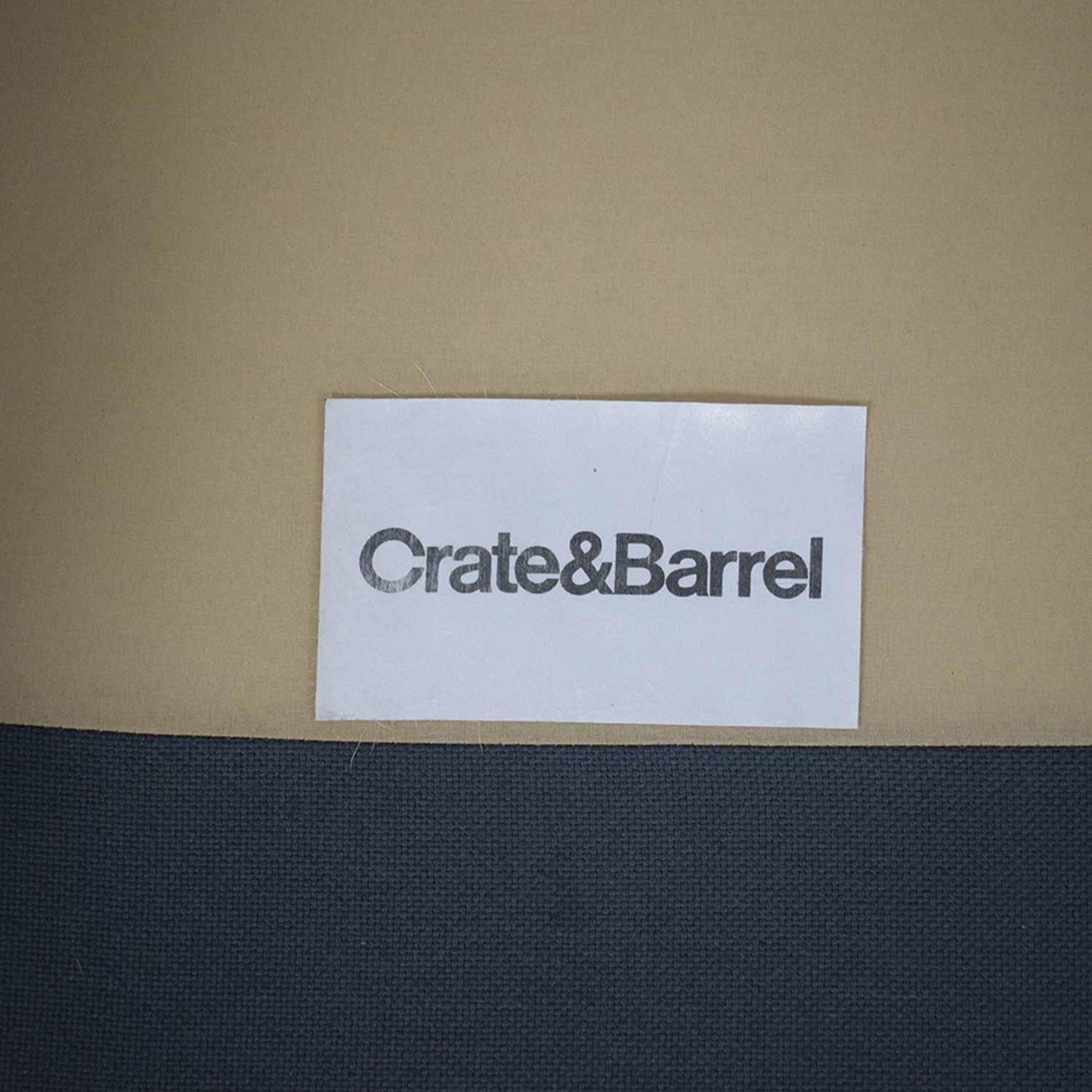 Crate & Barrel Crate & Barrel Montclair Apartment Sofa dimensions