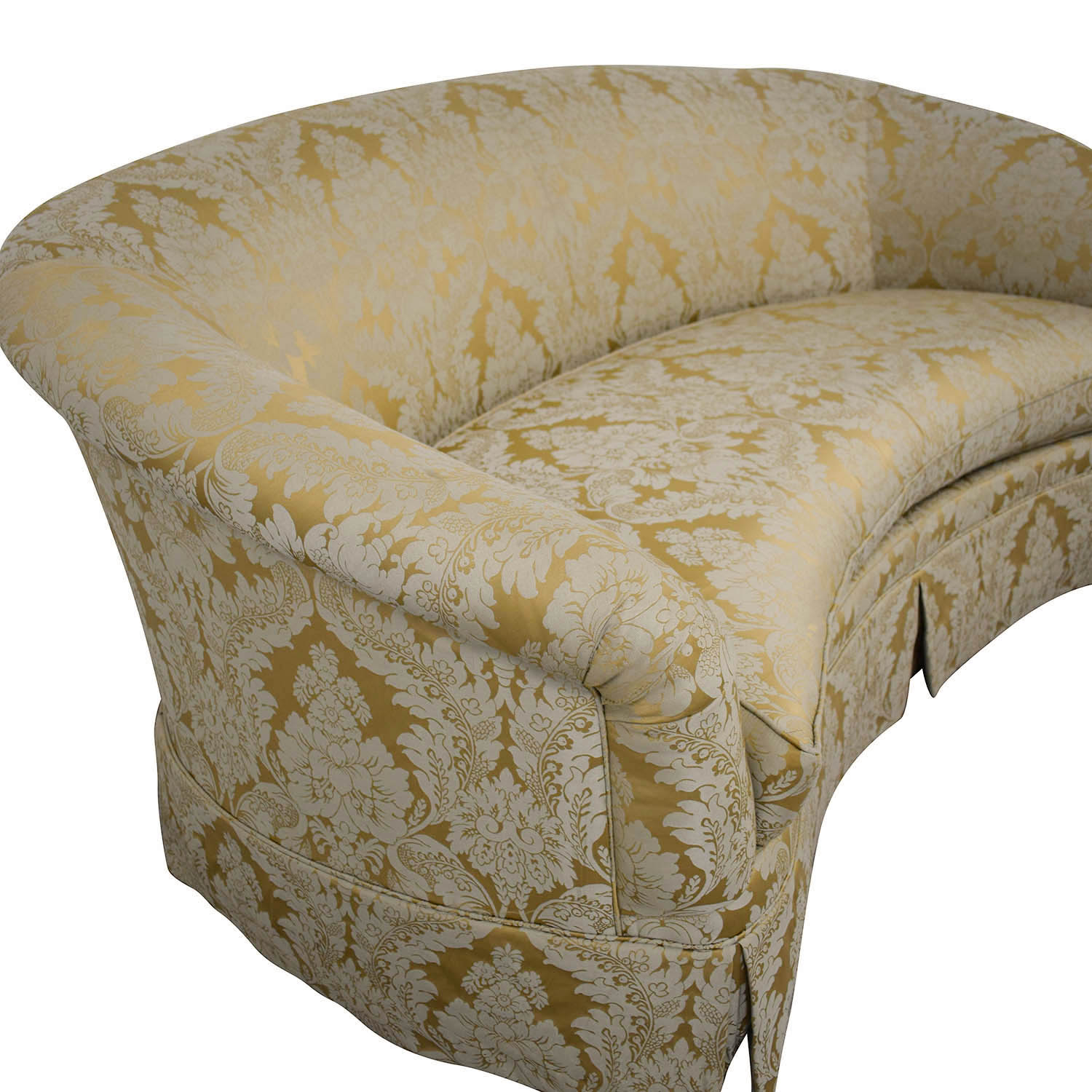 Drexel Heritage Drexel Heritage Curved Loveseat on sale