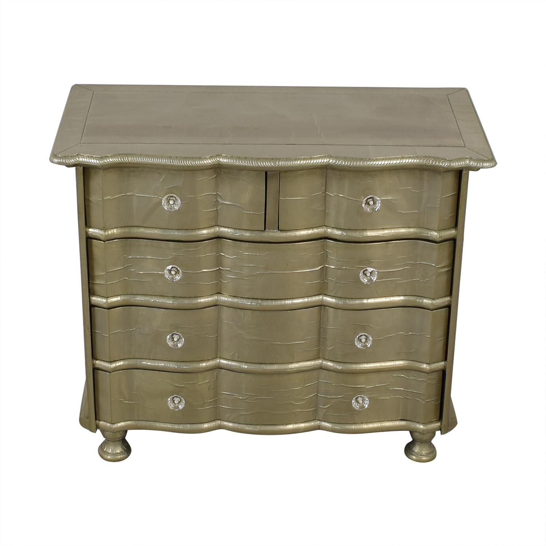 ABC Carpet & Home Gold Leaf Dresser sale