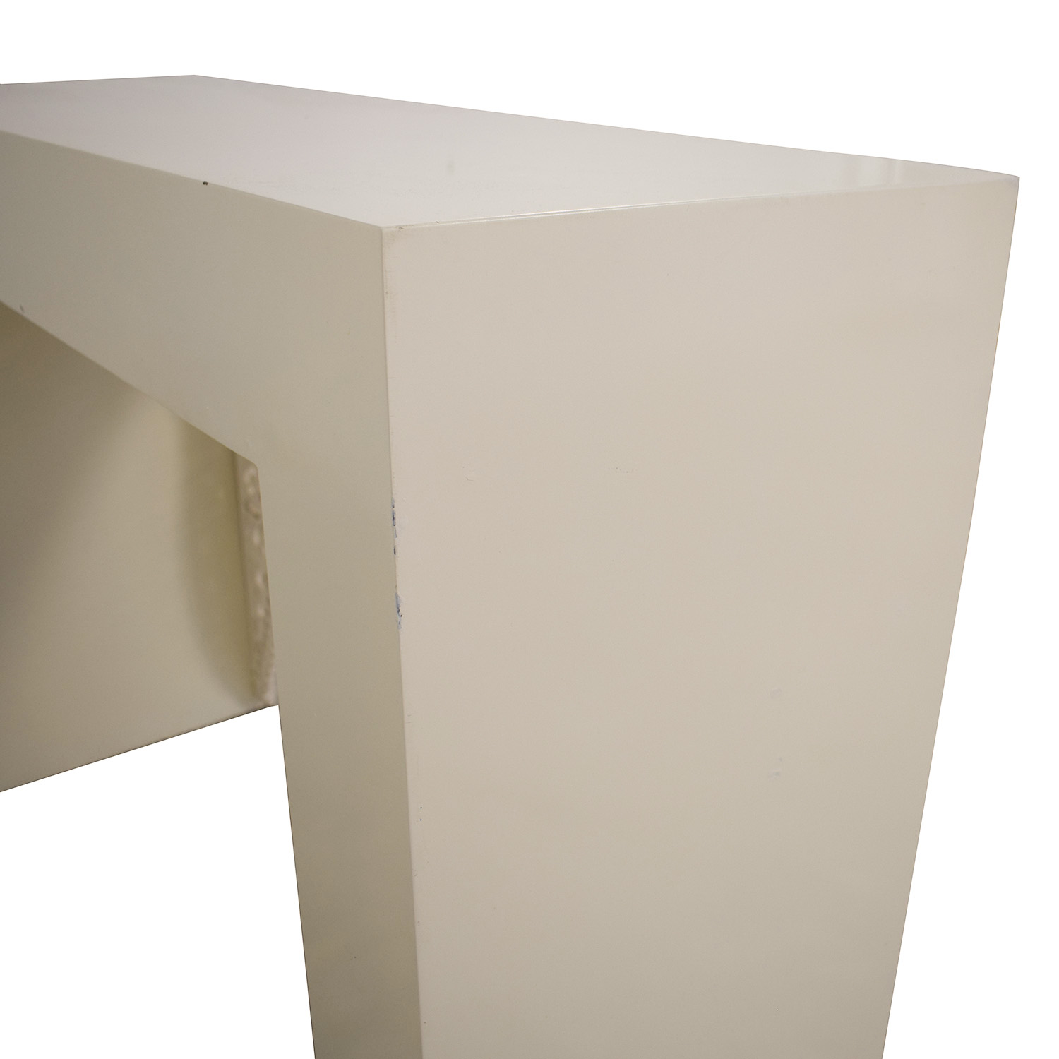 Shine by S.H.O Shangai White Lacquer Console second hand