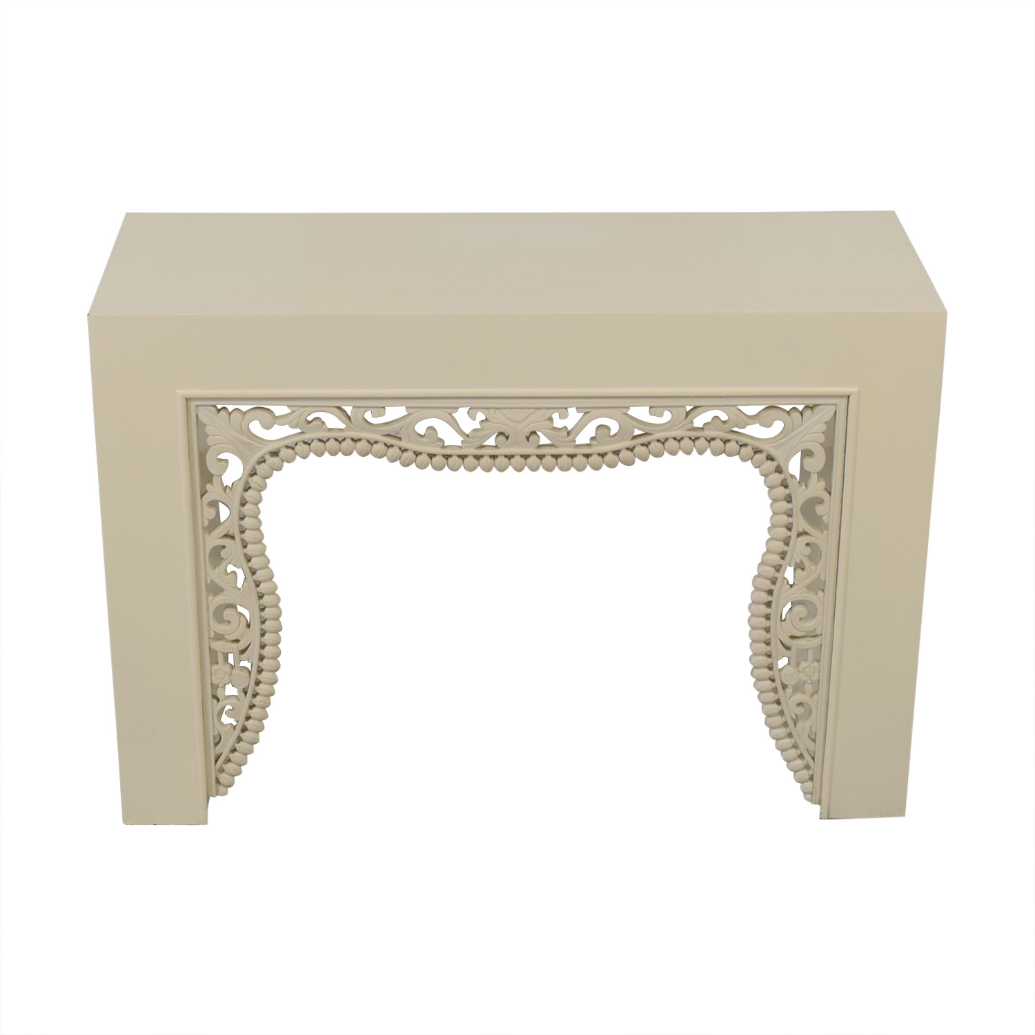 Shine by S.H.O Shangai White Lacquer Console on sale