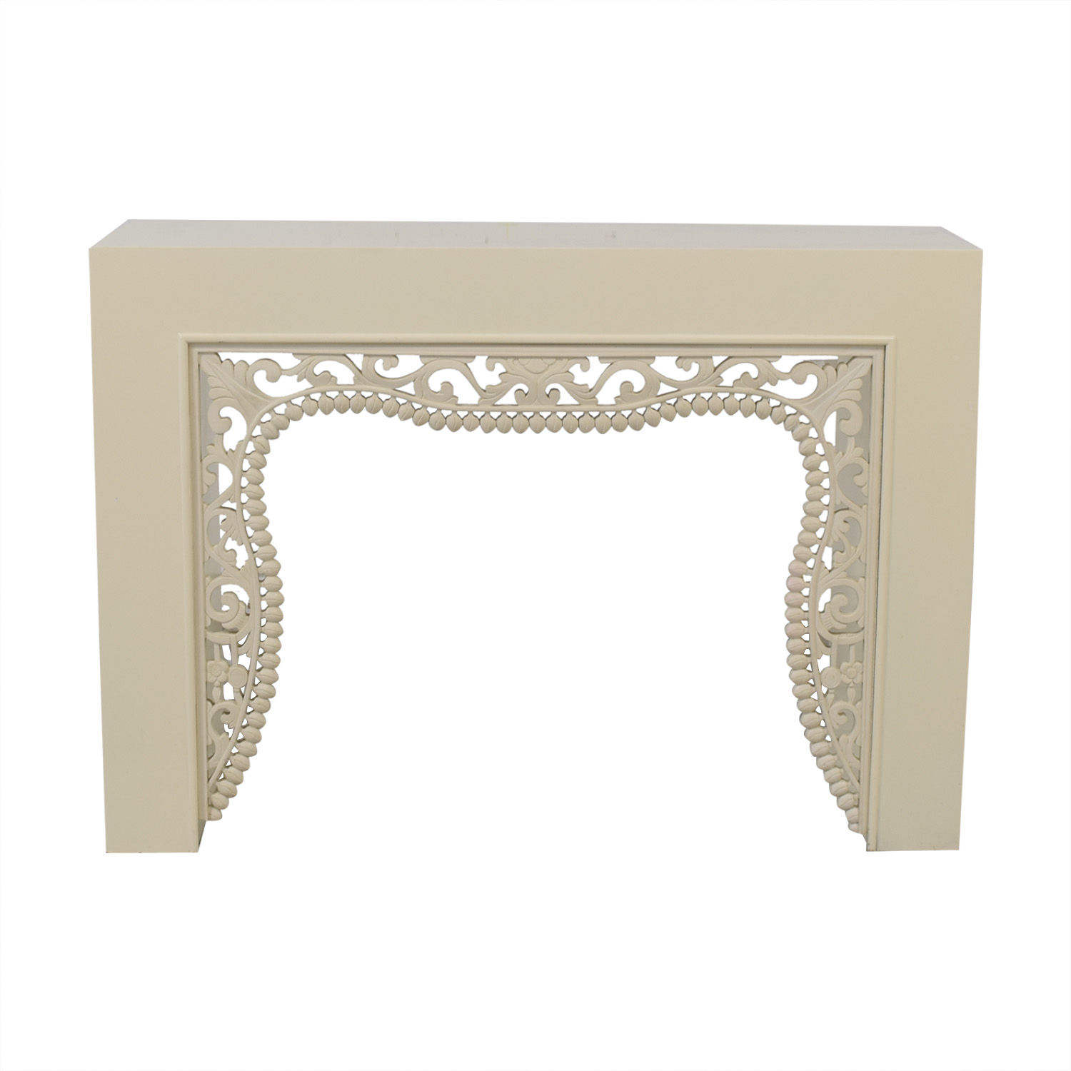 Shine by S.H.O Shangai White Lacquer Console for sale