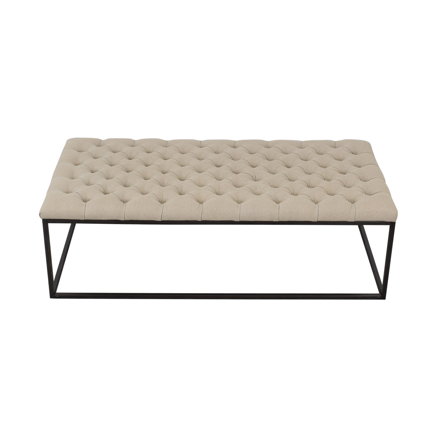 buy Classic Concepts Classic Concepts Tufted Ottoman Bench online