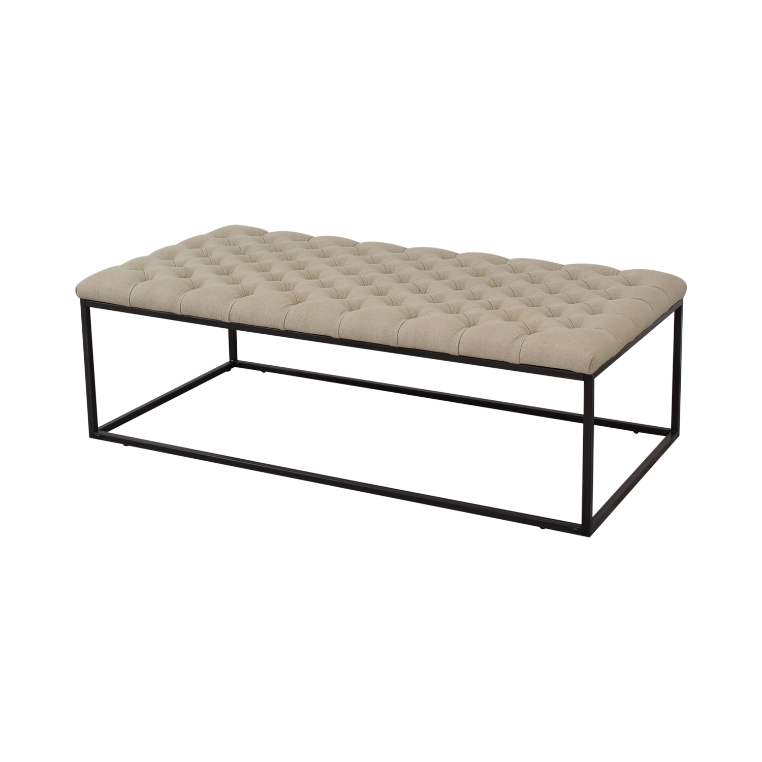 Classic Concepts Tufted Ottoman Bench / Chairs