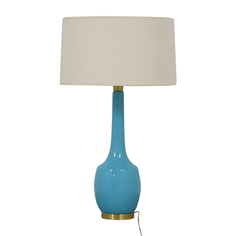 Turquoise Retro Table Lamp