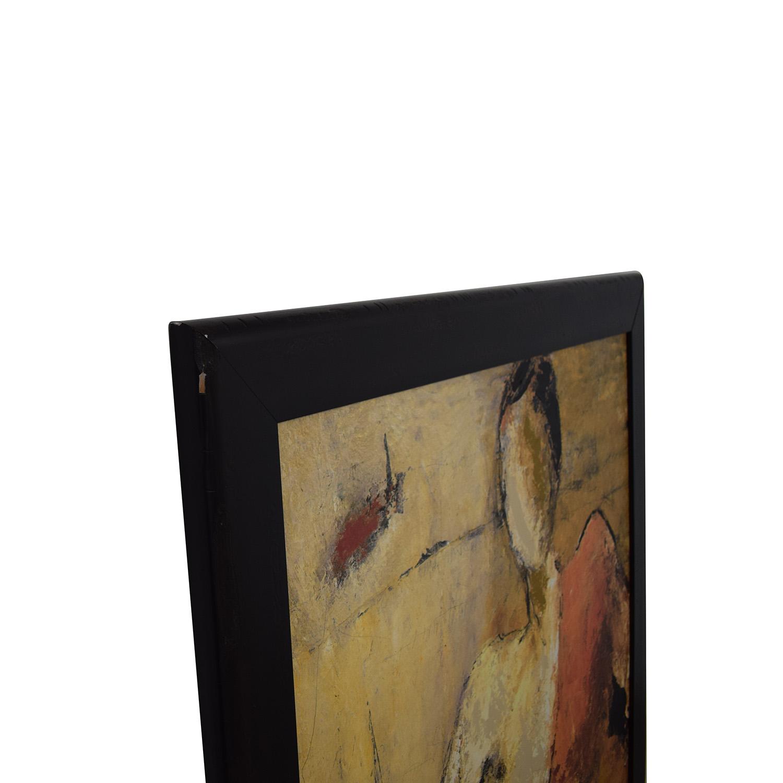 Z Gallerie Z Gallerie Wall Art on Black Wood Frame price