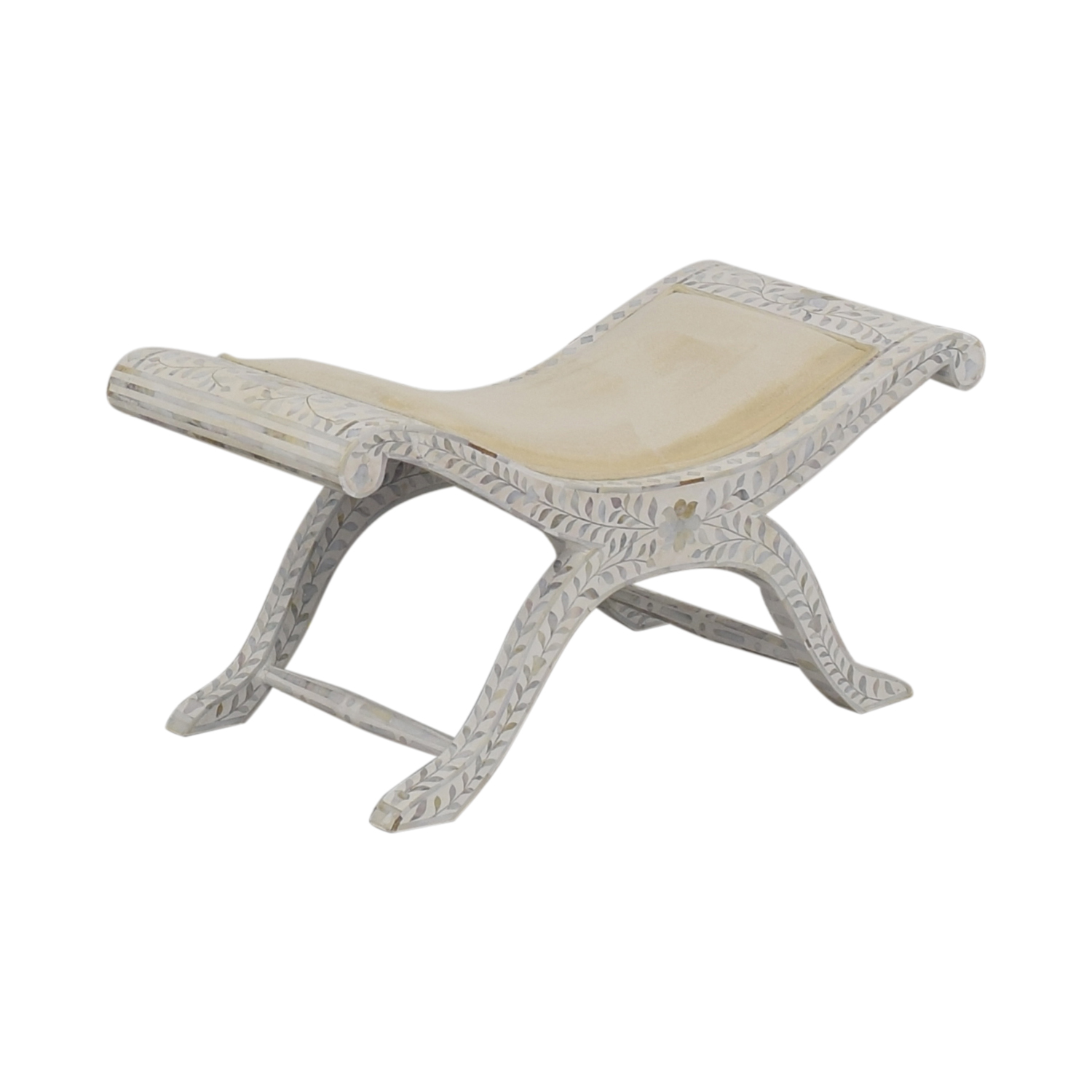 shop ABC Carpet & Home Shell Mosaic Bench ABC Carpet & Home Chairs