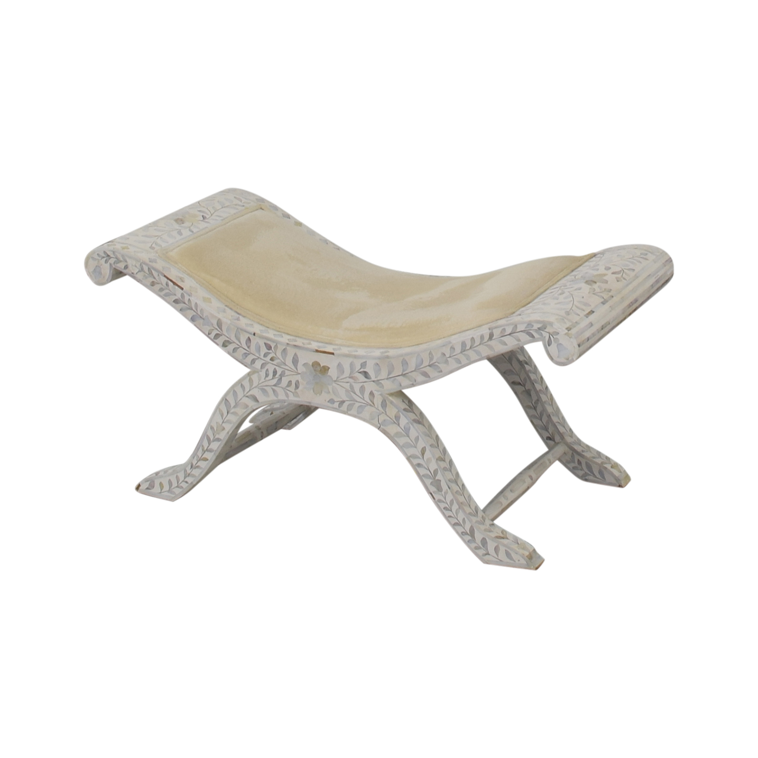 ABC Carpet & Home ABC Carpet & Home Shell Mosaic Bench on sale